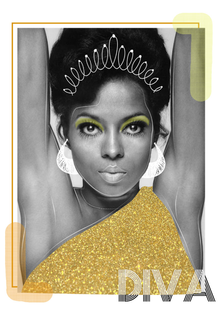 Diana Ross Diva - Photo : funkyband-radio.com