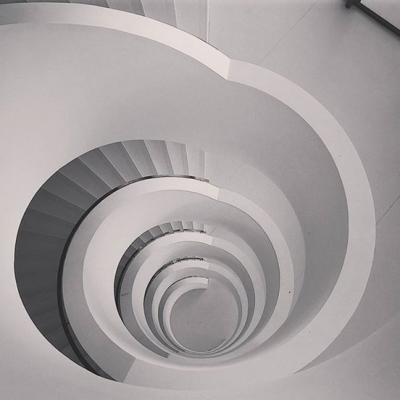 Escalier BU de Lyon 2
